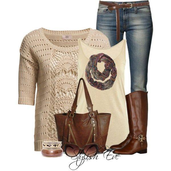 24 Nude and Brown Fashion Combinations in Fall Spirit (9)