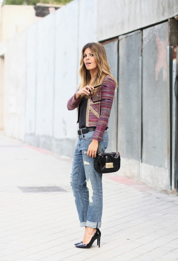 24 Trendy and Hot Street Style Outfit Ideas (1)