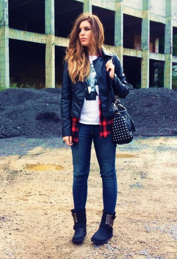 24 Trendy and Hot Street Style Outfit Ideas (14)