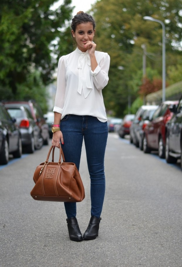 24 Trendy and Hot Street Style Outfit Ideas (17)