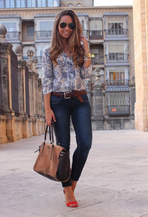 24 Trendy and Hot Street Style Outfit Ideas (18)