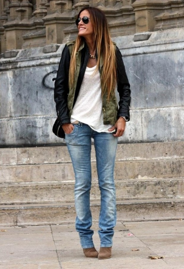 24 Trendy and Hot Street Style Outfit Ideas (19)
