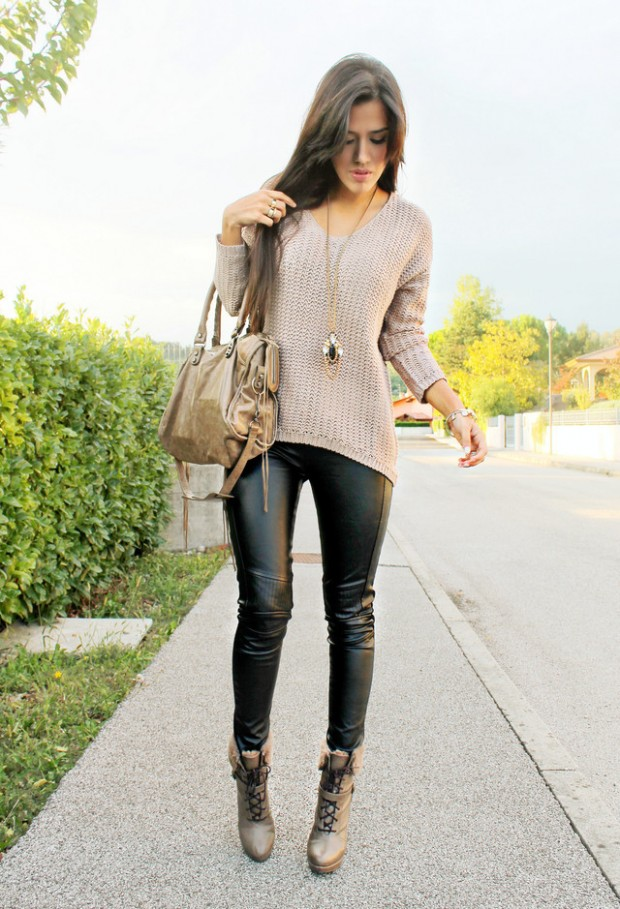 24 Trendy and Hot Street Style Outfit Ideas (9)