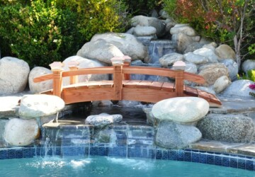 25 Amazing Garden Bridge Design Ideas that Will Make Your Garden Beautiful - garden bridge, garden