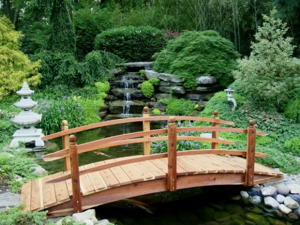 25 Amazing Garden Bridge Design Ideas that Will Make Your Garden