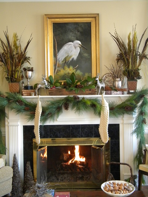 23 Gorgeous Christmas Mantel Decoration Ideas Style