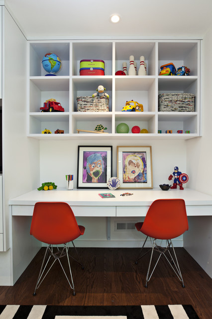 25 Inspirational Kids Study Room Design Ideas (11)