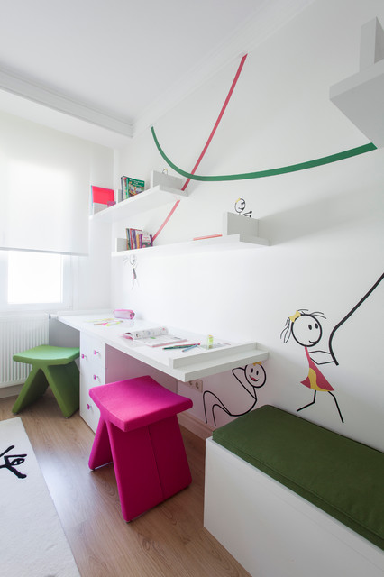 25 Inspirational Kids Study Room Design Ideas (18)
