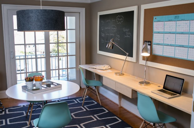 22 Inspirational Kids Study Room Design Ideas - Style Motivation