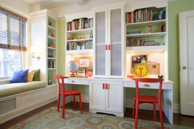 25 Inspirational Kids Study Room Design Ideas (25)