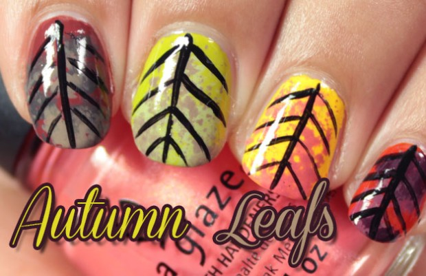 26 Attractive and Popular Nail Art Ideas That You Will Love (1)