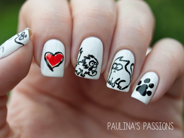 26 Attractive and Popular Nail Art Ideas That You Will Love (12)