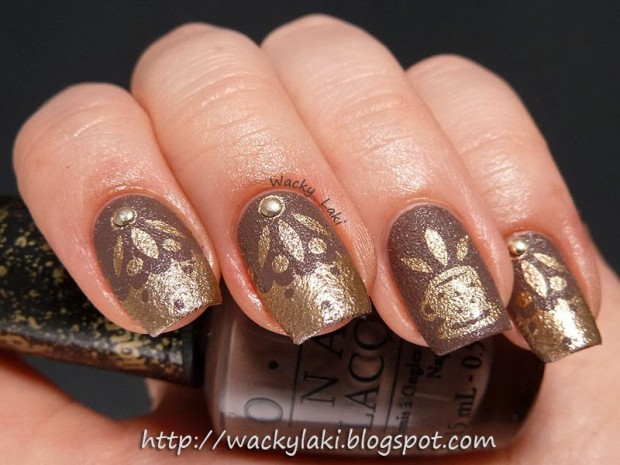 26 Attractive and Popular Nail Art Ideas That You Will Love (2)