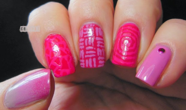 26 Attractive and Popular Nail Art Ideas That You Will Love (3)