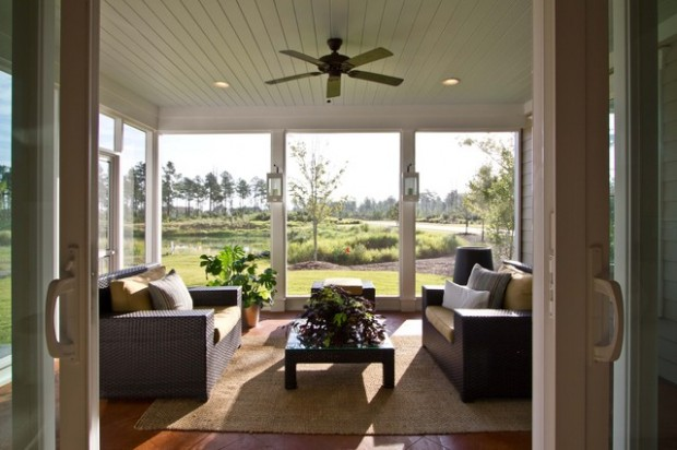 27 Great Sunroom Design Ideas (20)