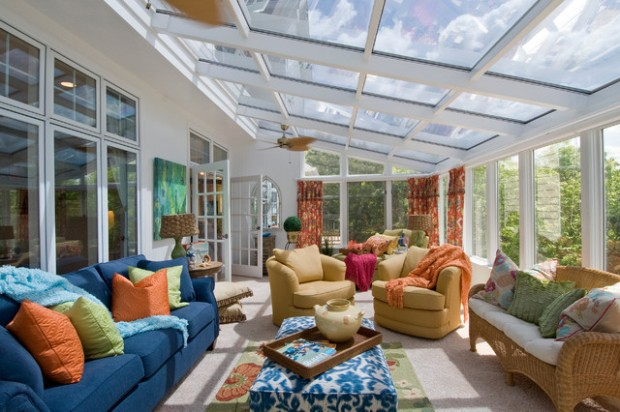 27 Great Sunroom Design Ideas (21)