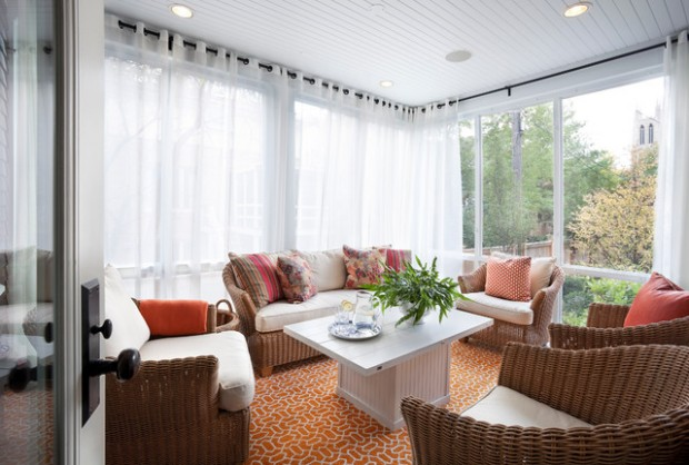 27 Great Sunroom Design Ideas (22)