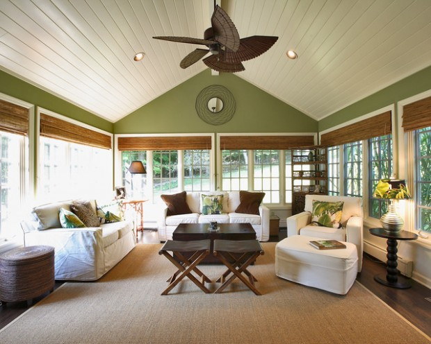 27 Great Sunroom Design Ideas (27)