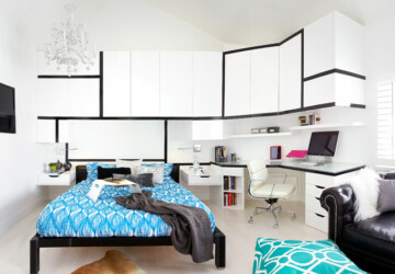 31 Amazing Teenage Bedroom Design Ideas - teenage bedroom, teenage, design ideas, bedroom design