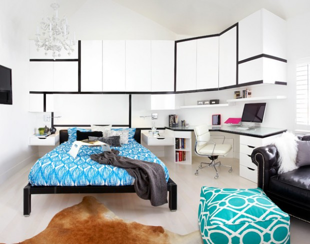 Attrayant 31 Amazing Teenage Bedroom Design Ideas