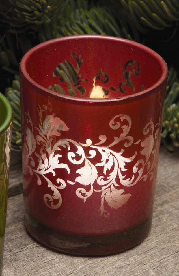 A Christmas Collection of 30 Beautiful Candle Holders  (10)