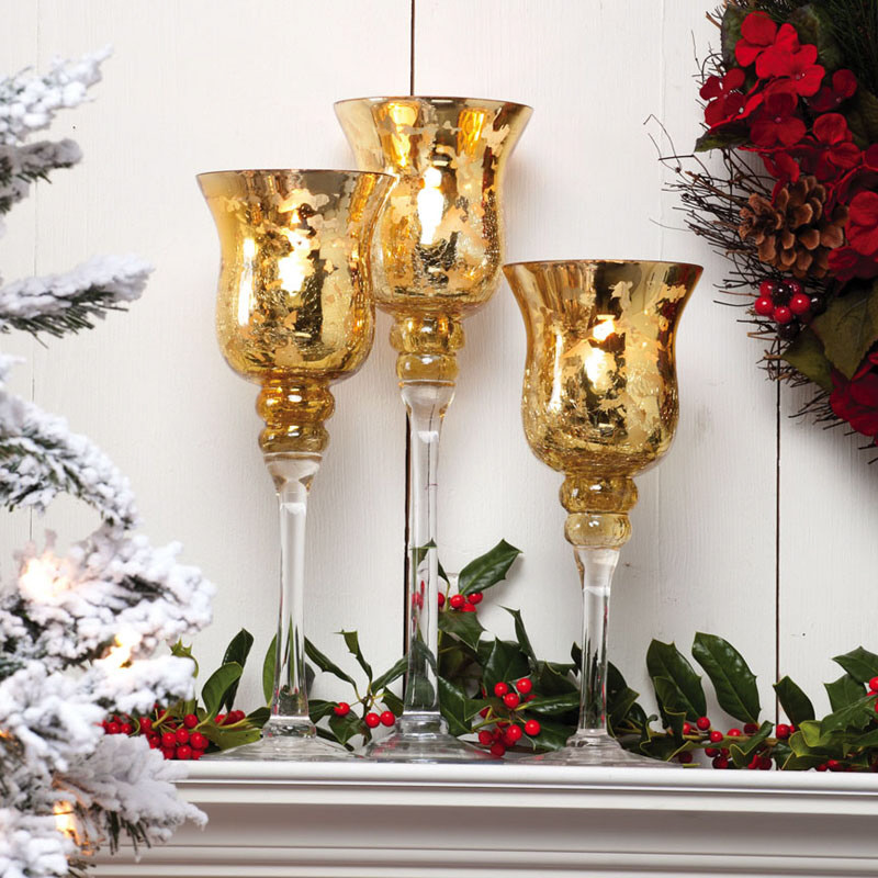 A christmas collection of 30 beautiful candle holders for How to make christmas candle holders