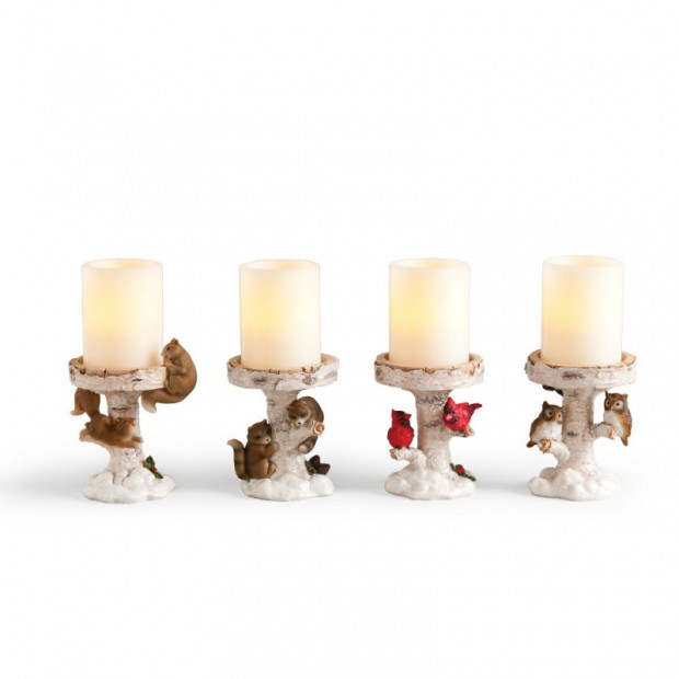 A Christmas Collection of 30 Beautiful Candle Holders  (6)