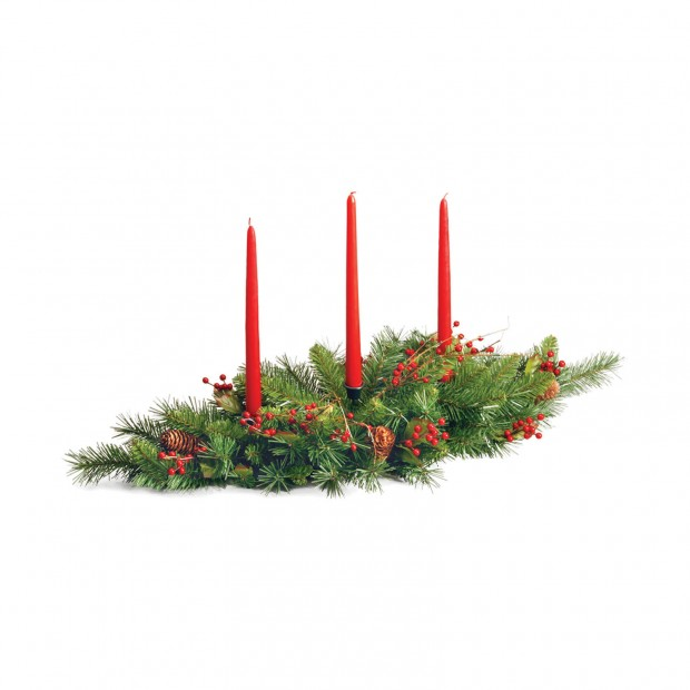 A Christmas Collection of 30 Beautiful Candle Holders  (9)