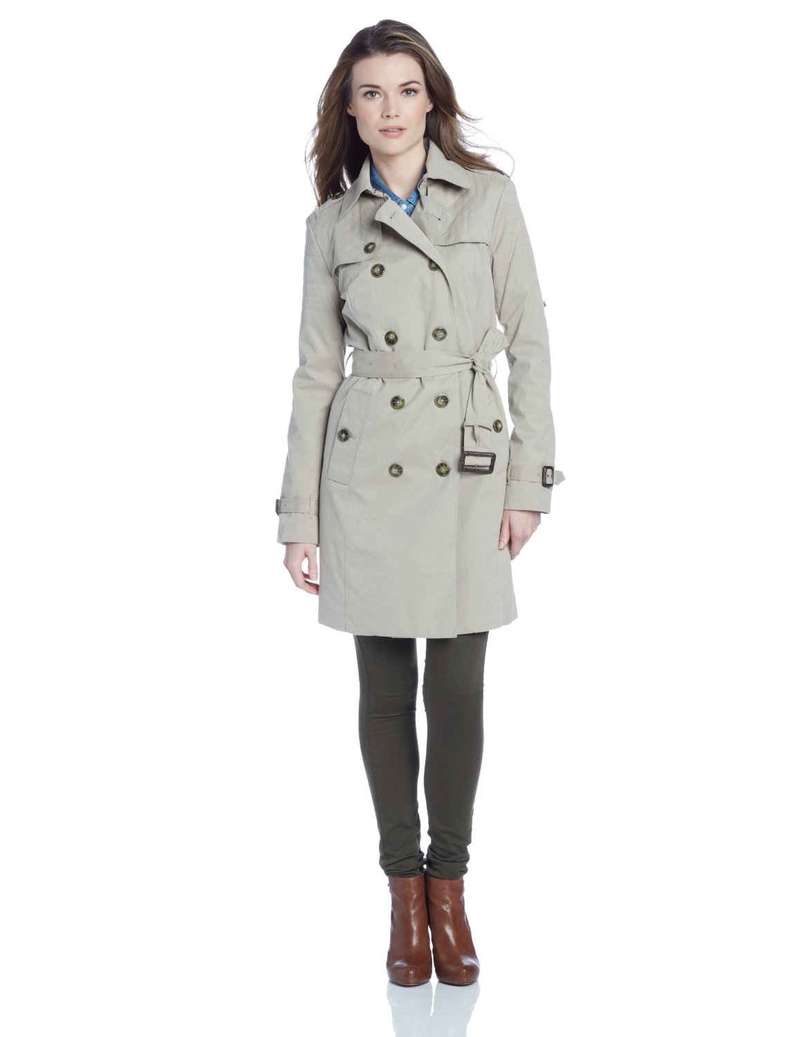 A Collection Of Belted Coats Perfect For Fall Style