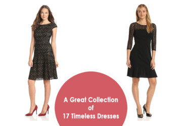 A Great Collection of 17 Timeless Dresses -