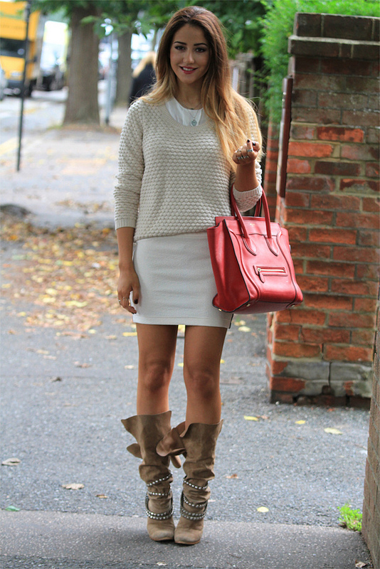 Cozy and Warm Sweater for Cold Days 20 Great Outfit Ideas (18)