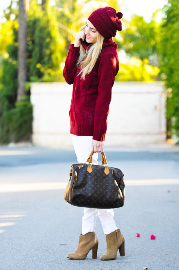 Cozy and Warm Sweater for Cold Days 20 Great Outfit Ideas (9)