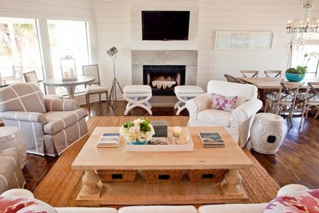 How to Decorate Your Coffee Table 27 Brilliant Design And Decoration Ideas  (9)