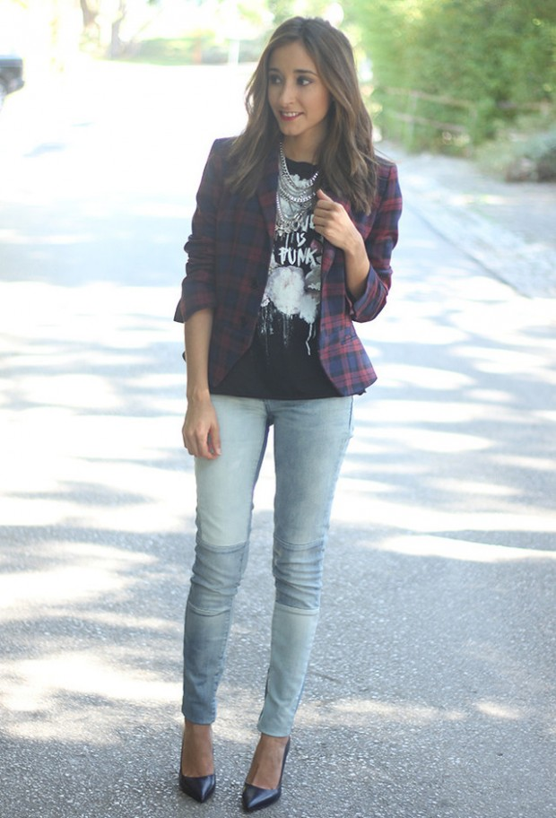 Perfect Fall Look 20 Outfit Ideas with Jeans (1)