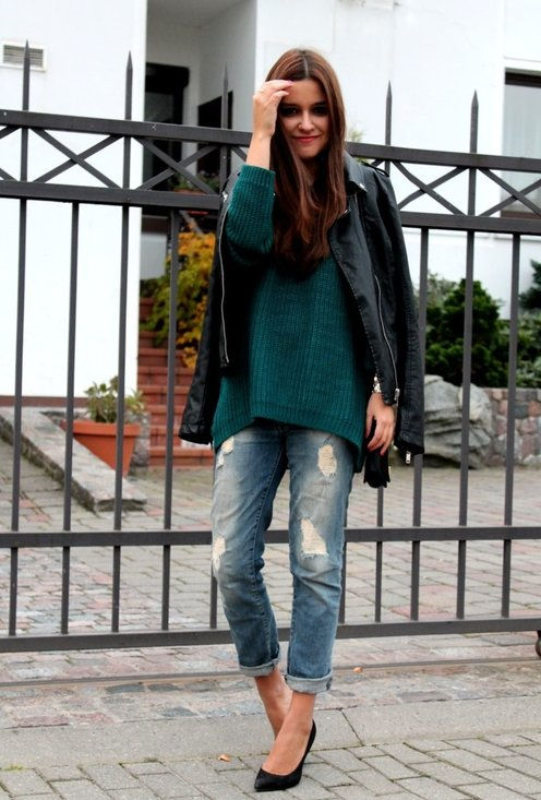 Perfect Fall Look 20 Outfit Ideas with Jeans (10)