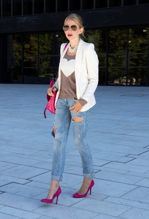 Perfect Fall Look 20 Outfit Ideas with Jeans (14)