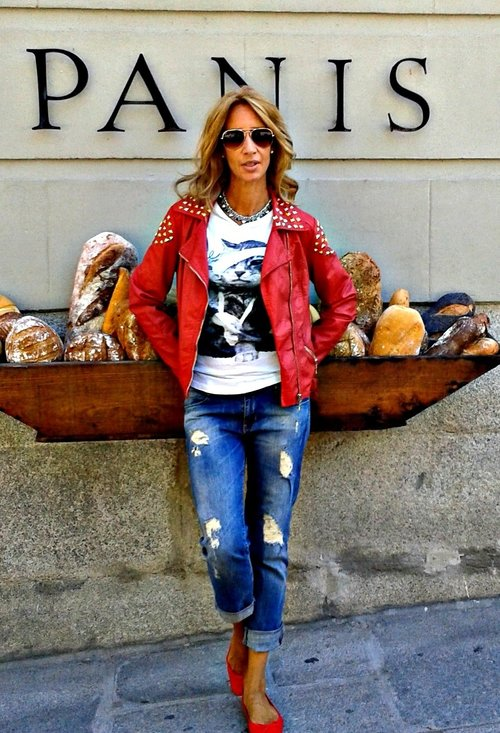 Perfect Fall Look 20 Outfit Ideas with Jeans (17)