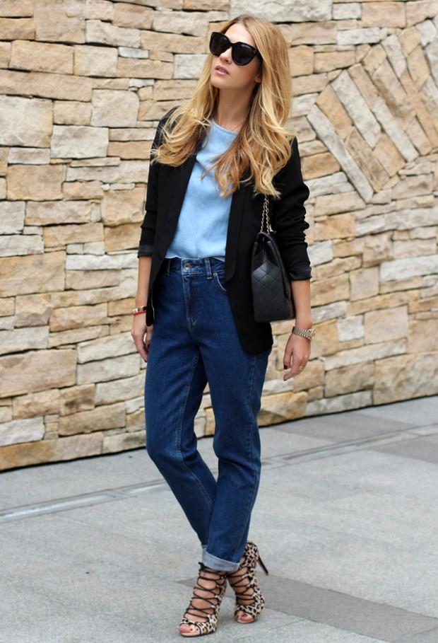 Perfect Fall Look 20 Outfit Ideas with Jeans (18)