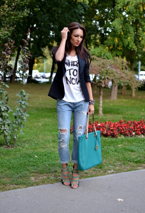 Perfect Fall Look 20 Outfit Ideas with Jeans (19)