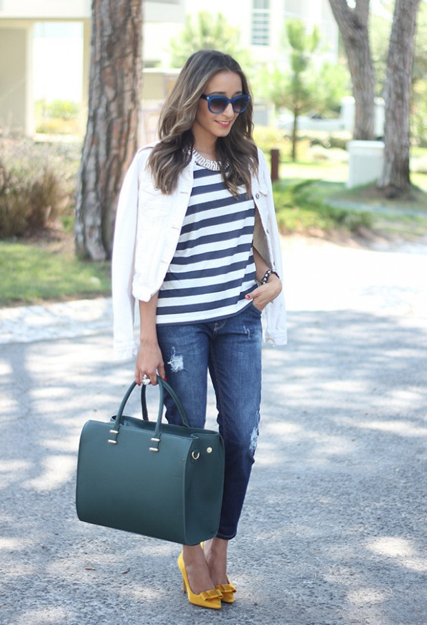 Perfect Fall Look 20 Outfit Ideas with Jeans (5)