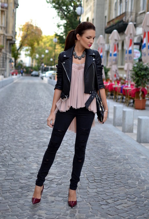 Perfect Fall Look 20 Outfit Ideas with Jeans (7)
