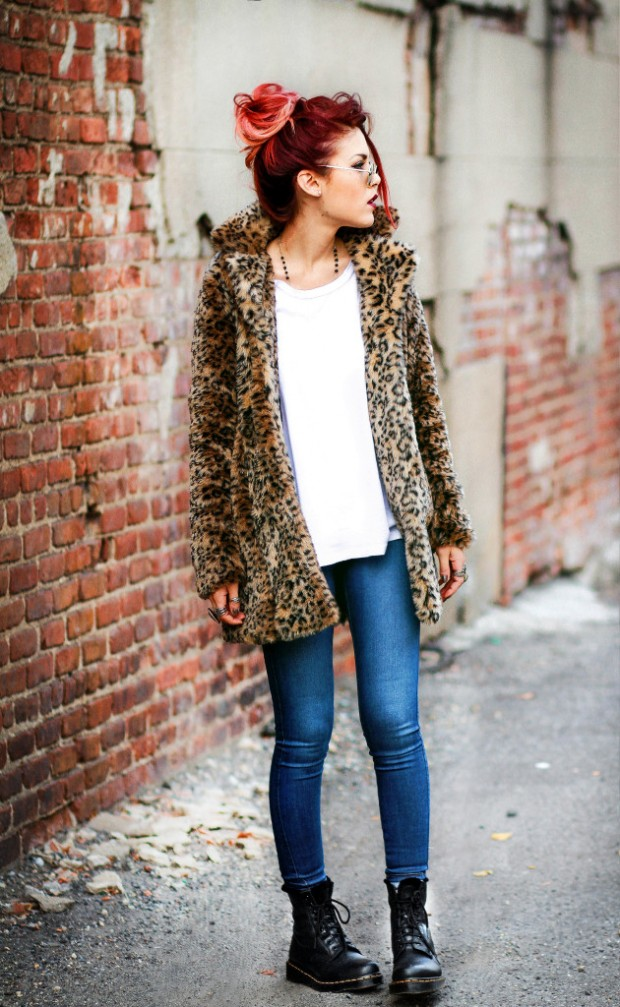 24 Chic Street style Outfit Ideas for Urban Girls
