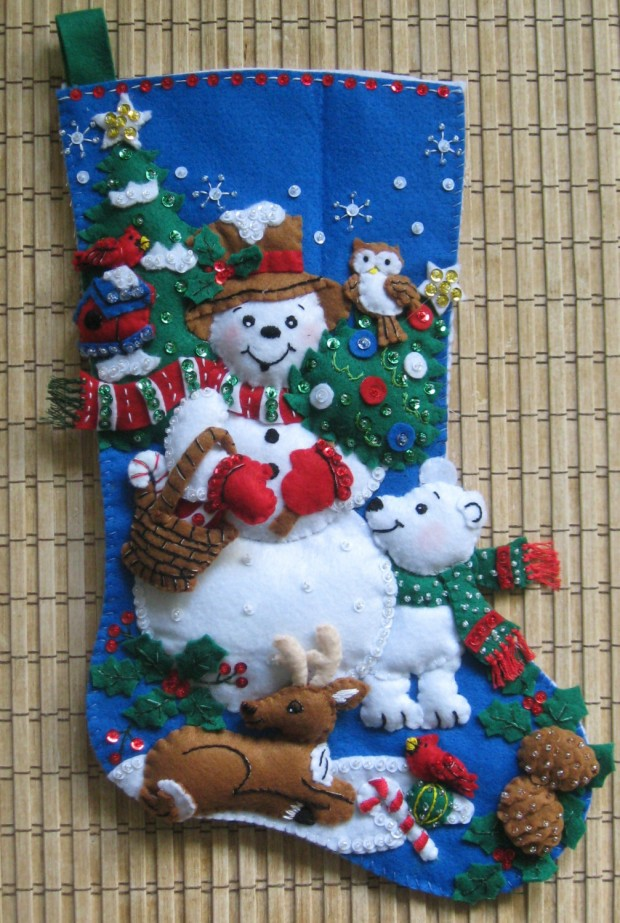 15 Cute and Creative Christmas Stocking Designs (12)