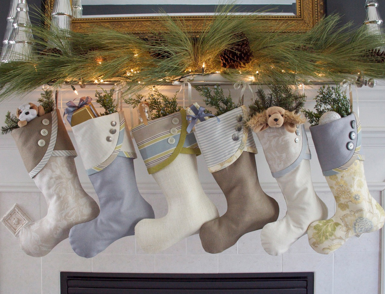 Personalized Dog Stockings Christmas