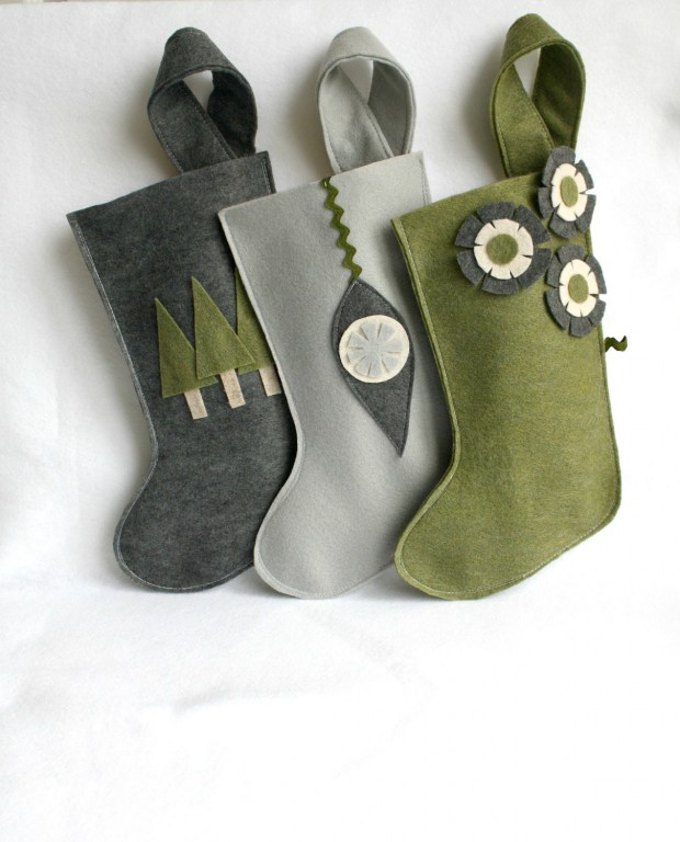 15 Cute and Creative Christmas Stocking Designs (9)