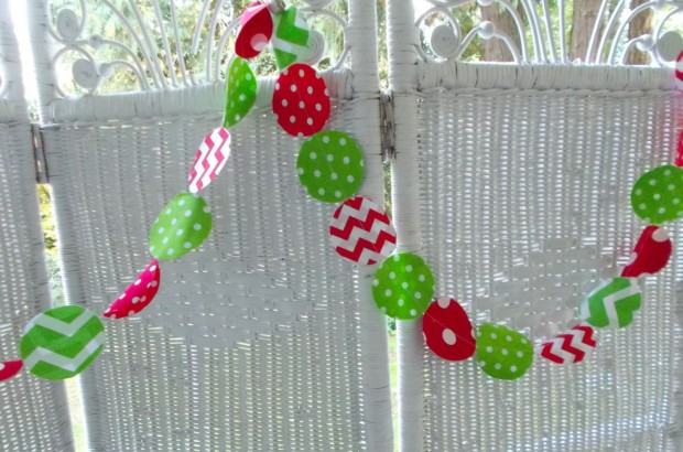 15 Cute and Handmade Christmas Garlands (1)