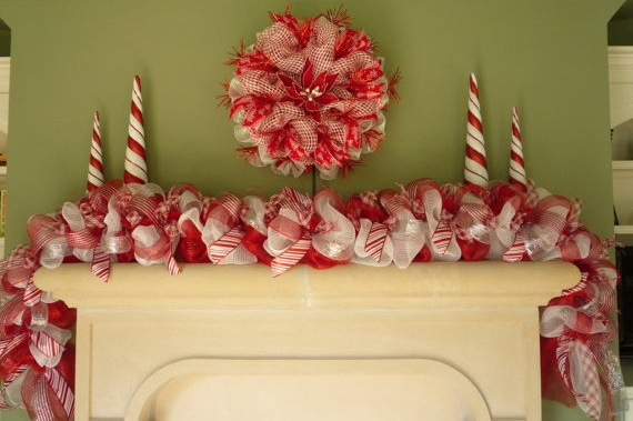 15 Cute and Handmade Christmas Garlands (6)