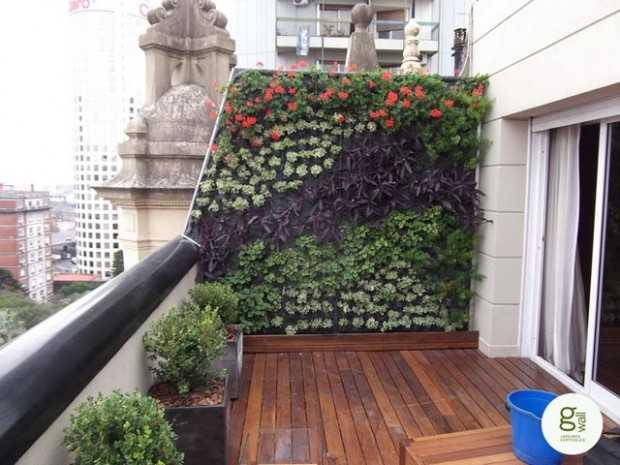 15 amazing ideas for perfect balcony garden style motivation for Apartment landscape design
