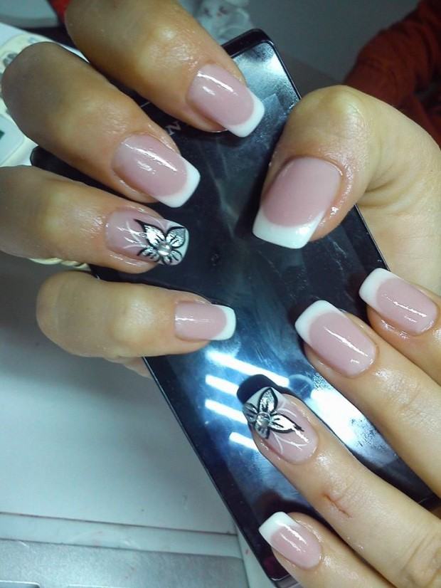 16 Beautiful and Simple Nail Design Ideas