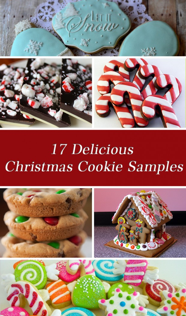 17 Delicious Christmas Cookie Samples